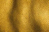 黄金の革の質感 — ストック写真