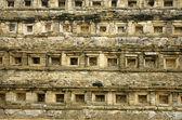 El tajin niches background texture — Stock Photo