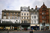 Princes street — Foto Stock