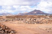 Lanzarote, volcanic landscape — Stock Photo