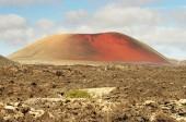 Lanzarote, Timanfaya volcanic park — Stock Photo