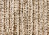 Brązowy nitwear tekstura tło — Zdjęcie stockowe