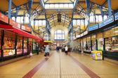 Nagycsarnok the greatest market hall in Budapest — Stock Photo