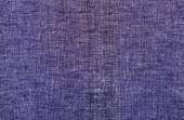 Blue cotton material texture background — Stockfoto