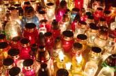 All Saints Day lights — Stockfoto
