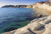 White stones bay — Stock Photo