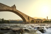 Bobbio's bridge — Stock Photo