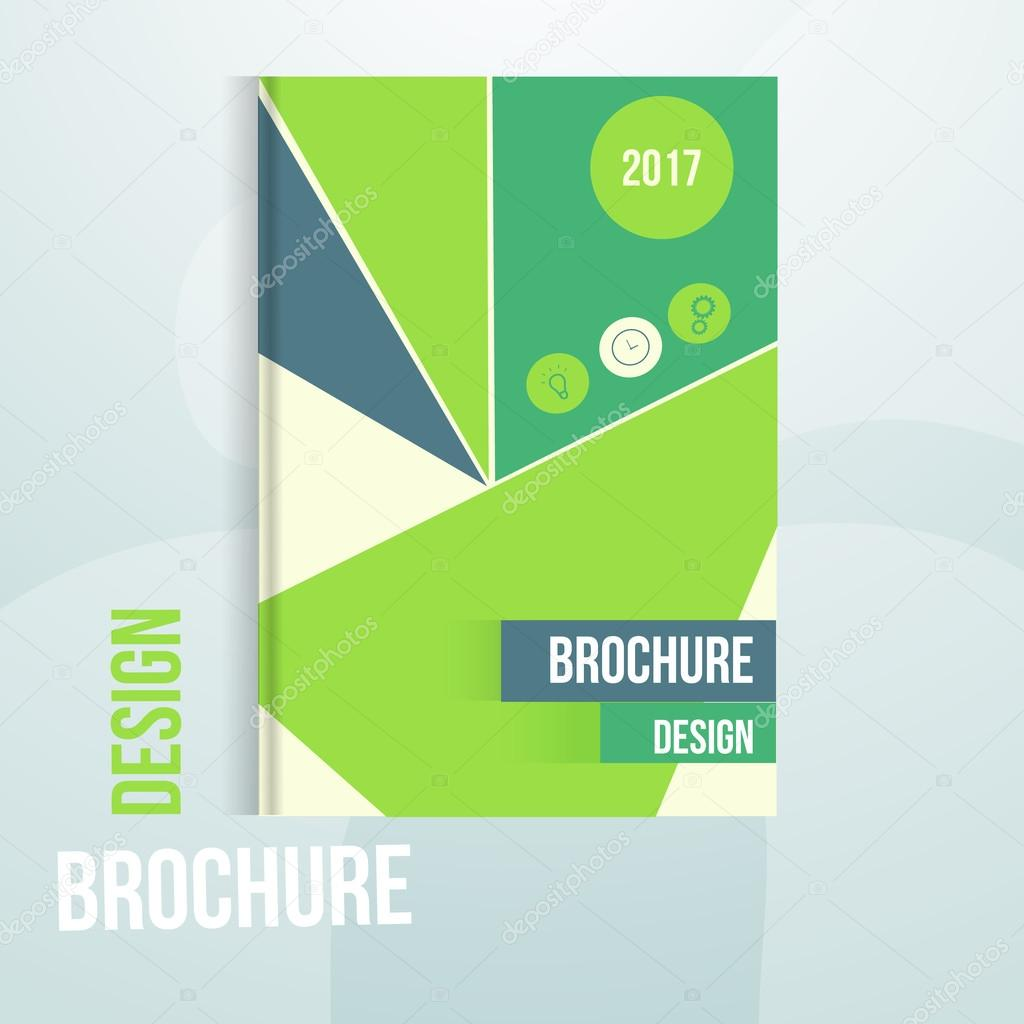 modern vector annual report design template triangles can be modern vector annual report design template triangles can be used for brochure cover
