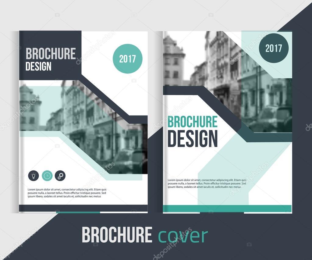 set of vector brochure cover templates blured city landscape set of vector brochure cover templates blured city landscape and lines professional business presentation