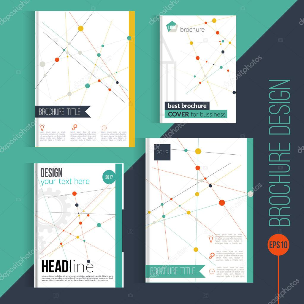 vector brochure cover design templates abstract geometric vector brochure cover design templates abstract geometric triangular connection backgrounds for your business