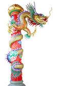 Dragon pillar — Stock Photo
