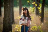 Ukrainian woman — Stock Photo