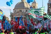Trade union demostration — Stock Photo