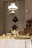 Antique dining room — ストック写真