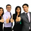 Asian Indian businessmen and businesswoman — Stock Photo #70301139