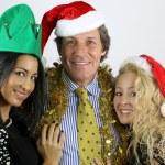 Happy family posing for christmas — Stock Photo #58870635