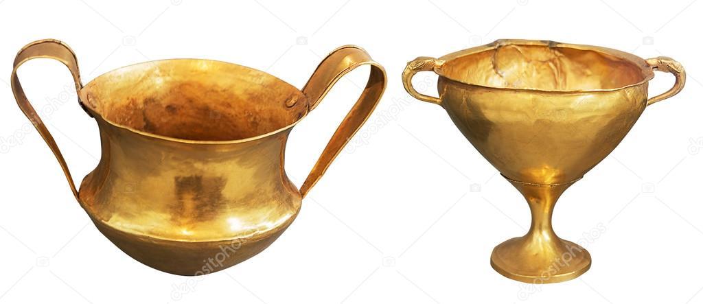 Vaso greco antico dell 39 oro due foto stock mtv2020 for Vaso greco antico