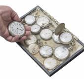 時計じかけの古い懐中時計 — ストック写真