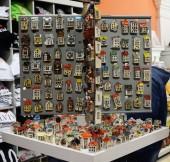 Keramik Häuser — Stockfoto