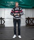 Male model in longsleeve — Stock Photo