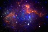 Deep space nebula — Stock Photo