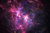 Deep space nebula with stars — Stock Photo