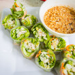 Thai fresh Spring Roll — Stock Photo #54917085