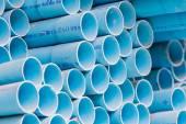 Varios tamaños de tubos de pvc — Foto de Stock