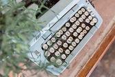 Old Manual Typewriter keys in Thai Language. — Stock Photo