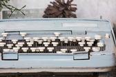 Old typewriter — Stock Photo