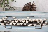 Alte schreibmaschine — Stockfoto