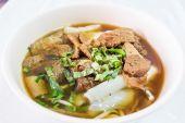 Vegan food popular manu in Nine Emperor Gods Festival ( J food ) — Stockfoto