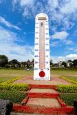 Big thermo meter — Stock Photo