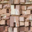 Wood timber construction material — Stock Photo #55192041