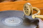 античный граммофон — Стоковое фото