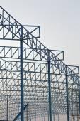 Bouw van gebouw — Stockfoto