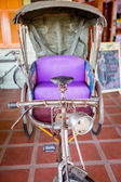 Thailand tricycle, Thai old style transportation. — Stock Photo