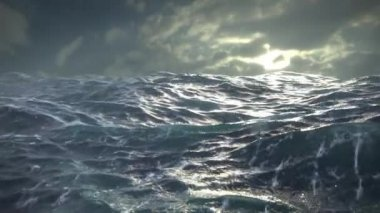 Ocean Storm — Stock Video