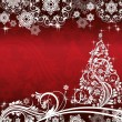 Christmas and New Year background with place for your text — Stock Vector #58054579