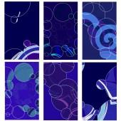 Set of Brochure Design Templates. Geometric shape Abstract Mode — Wektor stockowy