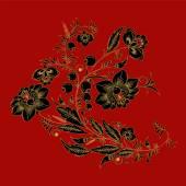 Traditional russian pattern. slavs design. vector illustration — Stock Vector