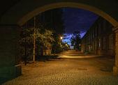 Città di notte. tampere, finlandia. — Foto Stock