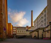 Factory street — Foto de Stock