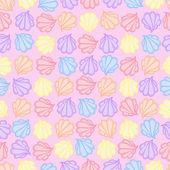 Merengue Pastel Colors Vector Patern — Stock Vector