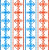 Ethnic Northern Vector Geometric Seamless Pattern — Vector de stock