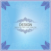 Design pattern, Menu, Greeting Card, Cover and all other purpose — Vector de stock