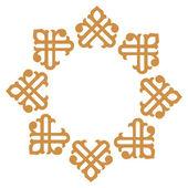 Ornamental pattern, vector design — Stock Vector