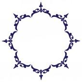 Ornamental circle design — Stock Vector