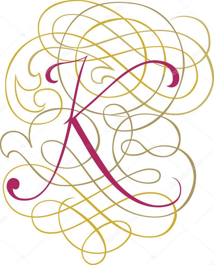 Stylish Way To Write English Alphabets - calligraphic ...