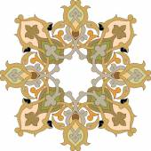 Orientalisch ornament-vektor-design in bunten nahtlose muster — Stockvektor